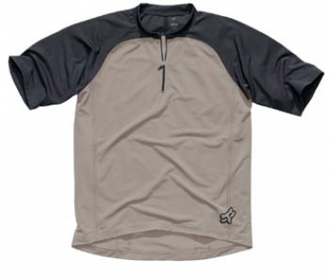 FOX racing Base S/S Jersey - dark stone - M