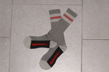 FOX racing Long Crew Socken -grey/heather-