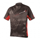 ENDURA - Hummvee Ray Jersey - red